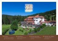 Prospekt Zum Zirm 2016