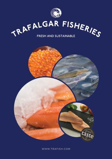 Trafalgar Fisheries Wholesale Brochure