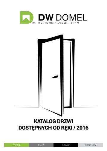 DW DOMEL - Drzwi dostępne od ręki 2016