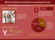 What you need to know about duvet covers
