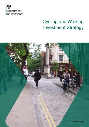 Cycling and Walking Investment Strategy