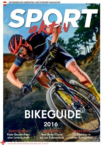 SPORTaktiv Bikeguide 2016