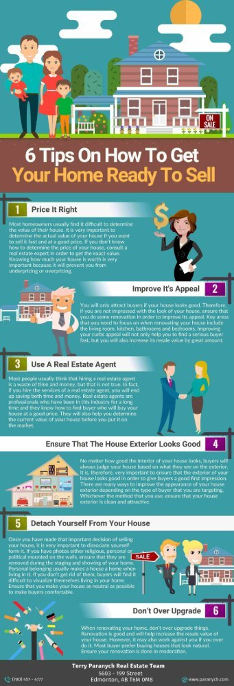 6 Tips on How to Get Your Home Ready to Sell