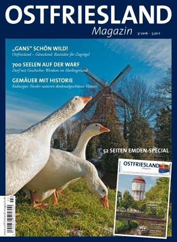 Ostfriesland Magazin 3/ 2016