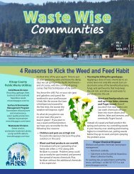 Waste Wise Communities Newsletter - Kitsap County Government