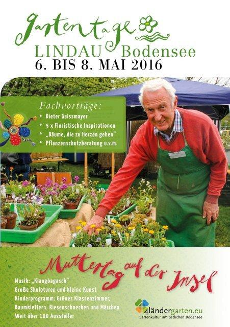 Gartentage Lindau 2016