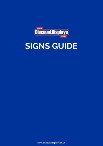 A Guide To Sign Printing