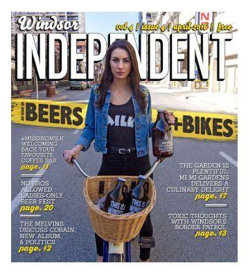 Windsor Independent - April 2016