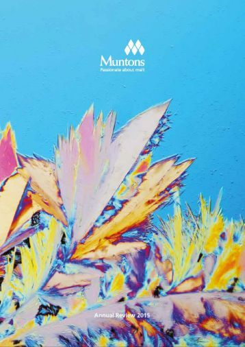 Muntons annual review 2015 year