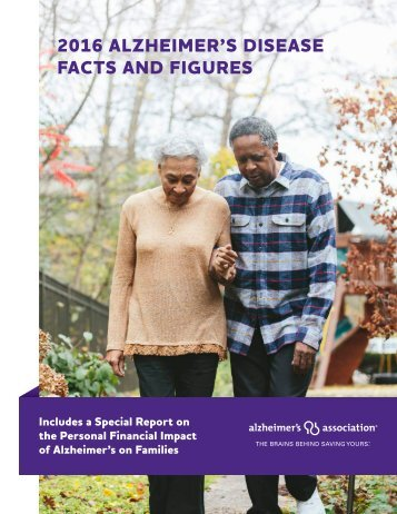 2016 ALZHEIMER'S DISEASE FACTS AND FIGURES