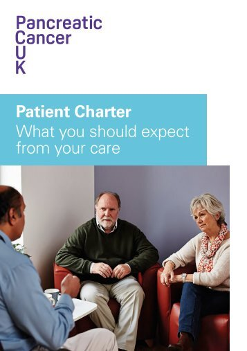Patient Charter What you should expect from your care