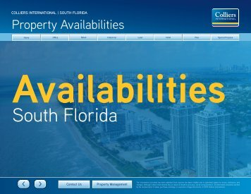 Property Availabilities April