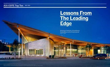 Lessons From The Leading Edge