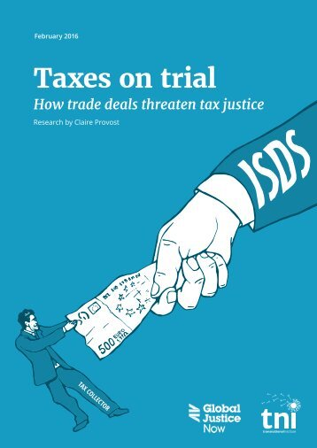 Taxes on trial