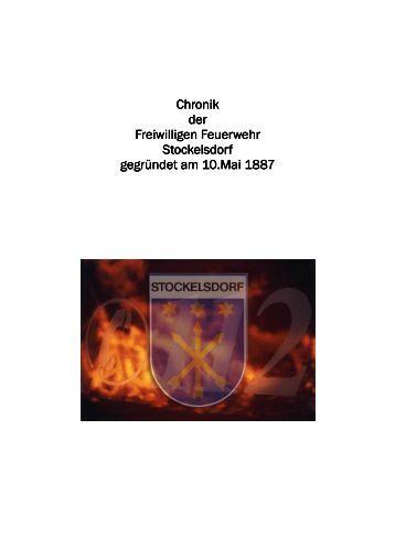 Chronik - Freiwillige Feuerwehr Stockelsdorf