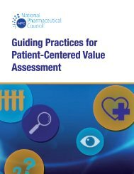 Guiding Practices for Patient-Centered Value Assessment