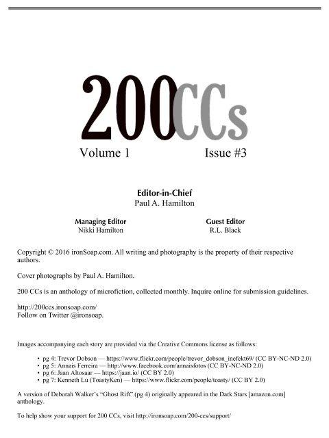 200 CCs - March 2016