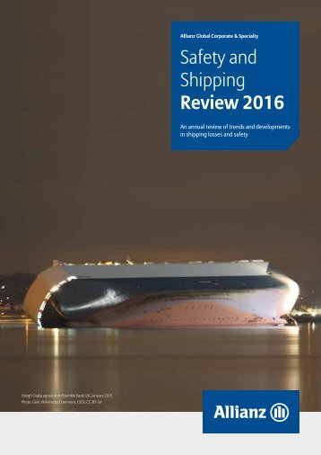 Safety and Shipping Review 2016