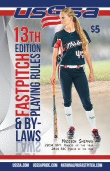 official asa girls fastpitch rules