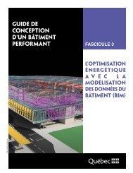 Guide de conception d'un bâtiment performant