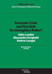 Economic Crisis and Firm Exit Do Intangibles Matter?