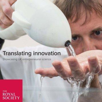 Translating innovation