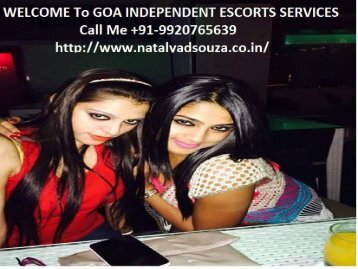 Goa Hot Dating Agency- Nitalya Dsouza Independent Goa Escorts
