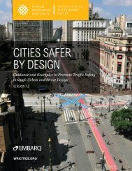 CITIES SAFER BY DESIGN