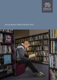 Annual Report Welsh Libraries 2015