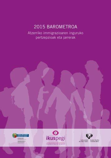 2015 BAROMETROA