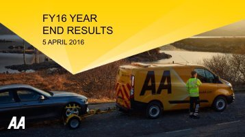 FY16 YEAR END RESULTS