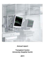 Einladung zur Eröffnungsveranstaltung - Transplantation (USZ ...