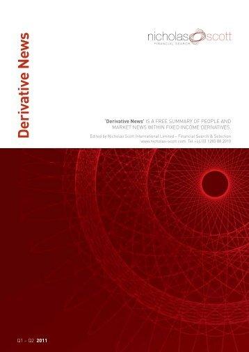 'Derivative News' IS A FREE SUMMARY OF PEOPLE - Nicholas Scott