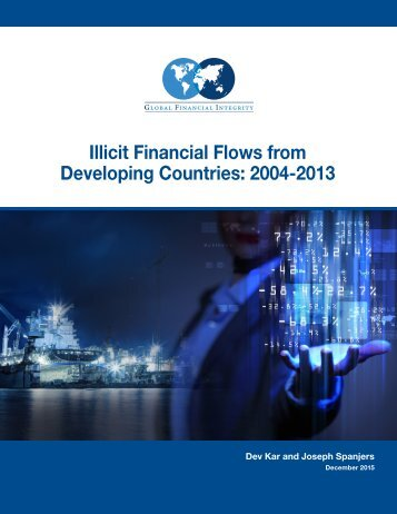 Illicit Financial Flows from Developing Countries 2004-2013
