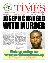 Caribbean Times 82nd issue - Tuesday 5th April 2016
