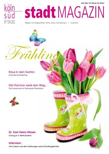 stadtMAGAZIN köln-süd | Ausgabe April-Mai