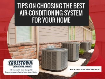 Find the Best Air Conditioning System for Your Home