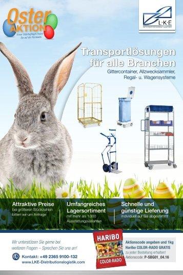 LKE Transportlösungen für alle Branchen