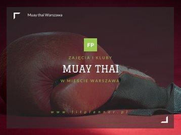 Muay Thai Warszawa