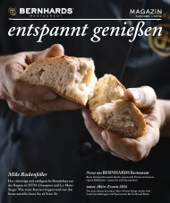 BERRNHARDS Magazin 2-2015