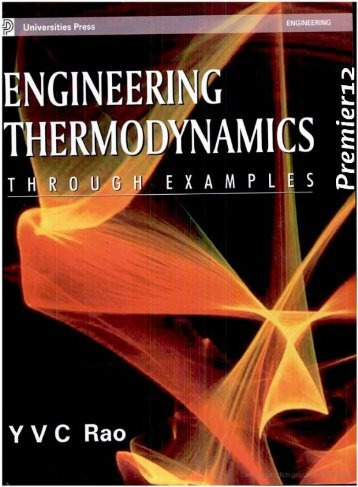Engineering Thermodynamics Through Examples incomplete