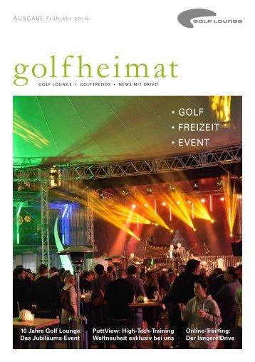 Golfheimat 1-2016