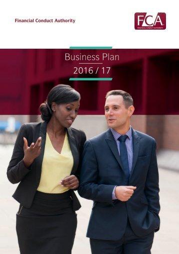 Business Plan 2016 / 17