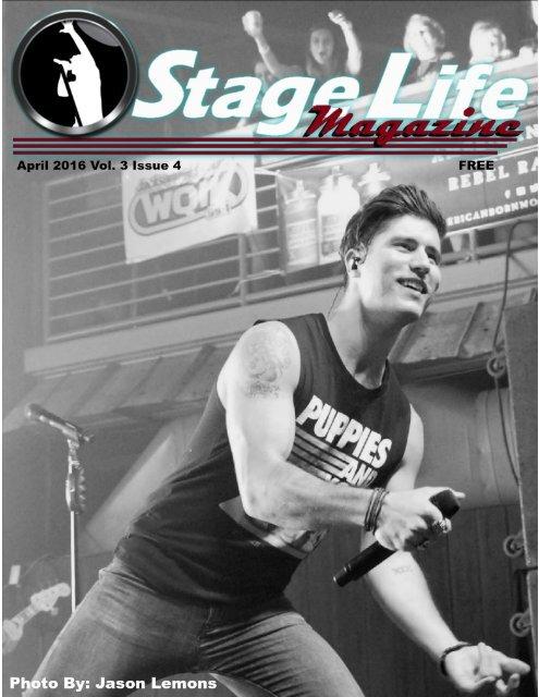 Stage Life Magazine April 2016