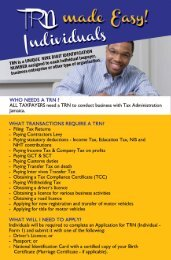 TRN Made Easy - Individuals - Tax Administration Jamaica (TAJ)