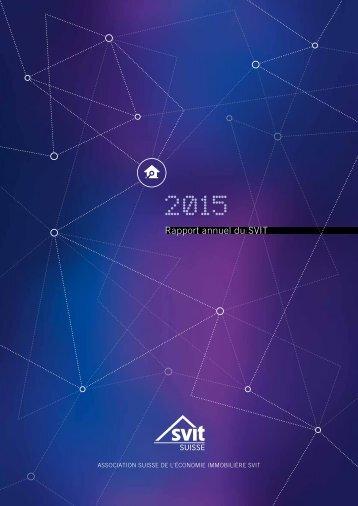 Rapport annuel du SVIT 2015