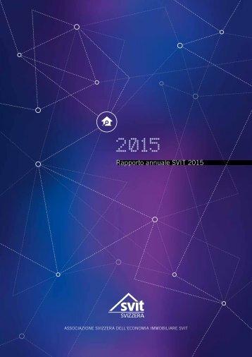 Rapporto annuale SVIT 2015