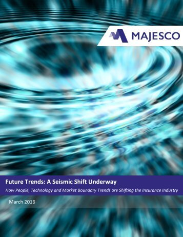 addressing future trends of the insurance