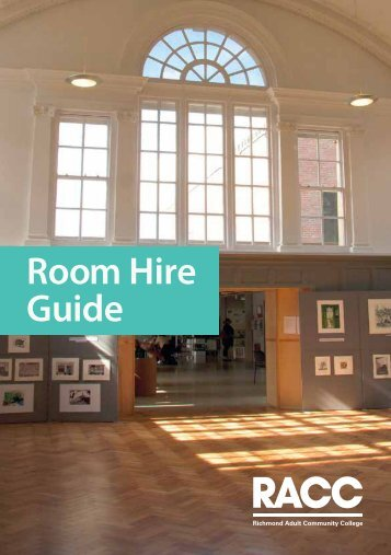 Room Hire Guide