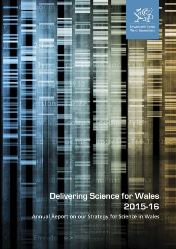Delivering Science for Wales 2015-16